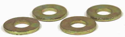 NAS1149-F0563P / 5/16 Mil-Spec Flat Washers / 0.063 Thk / Steel / Cadmium Yellow