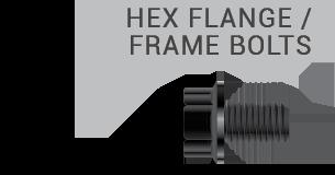 Hex Flange / Frame Bolts