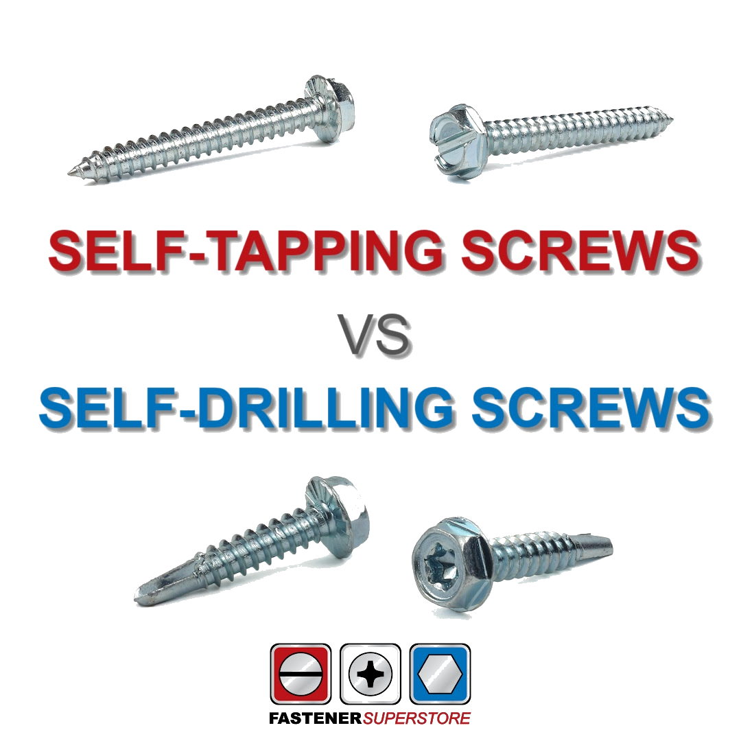 Self Tapping vs Self Drilling