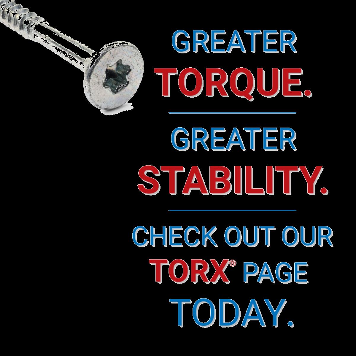 Torx Drives
