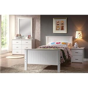 Acme Furniture Bungalow Twin Bedroom Group