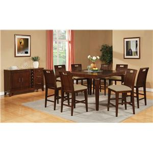 Acme Furniture Donavan C. Height Dining Room Group