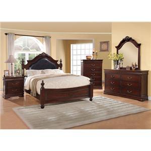 Acme Furniture Gwyneth California King Bedroom Group