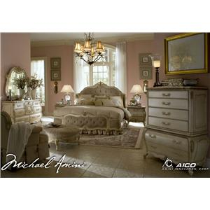 Michael Amini Lavelle King Bedroom Group