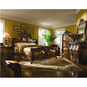 Michael Amini Palais Royale King Bedroom Group