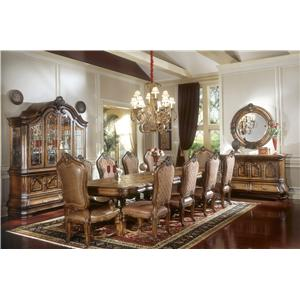 Michael Amini Tuscano Formal Dining Room Group