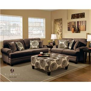 Albany 8642 Stationary Living Room Group