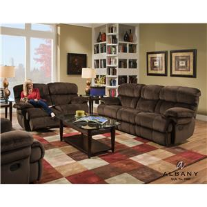 Albany X1800 Reclining Living Room Group