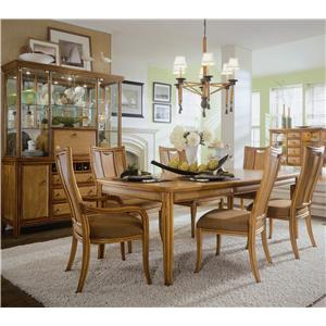 American Drew Antigua Formal Dining Room Group