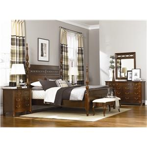 American Drew Cherry Grove Queen Bedroom Group