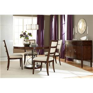American Drew Motif Formal Dining Room Group 6