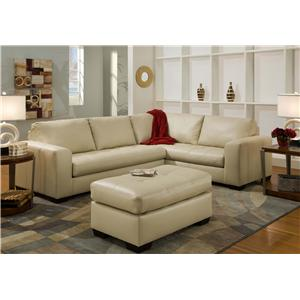 American Furniture 1230 Stationary Living Room Group
