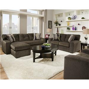 American Furniture 5100 Group Stationary Living Room Group