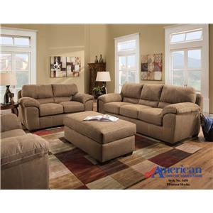 American Furniture 5450 Stationary Living Room Group
