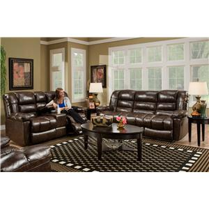 American Furniture AF550 4800 Reclining Living Room Group