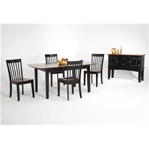 Newbury and Kensington Contemporary Dining Sets by Amesbury Chair