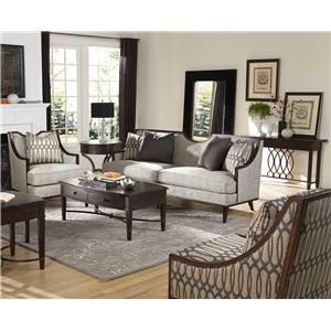 A.R.T. Furniture Inc Intrigue Harper - Mineral Stationary Living Room Group