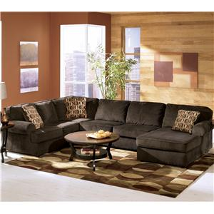 Stupendous Vista Chocolate 68404 By Ashley Furniture Fargo Pabps2019 Chair Design Images Pabps2019Com