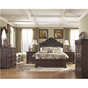 Millennium by Ashley Caprivi Queen Bedroom Group