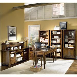 Aspenhome Cross Country Two Door & Four Drawer Bookcase