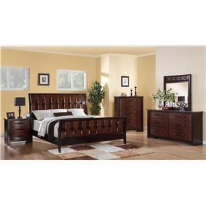 Austin Group Cavalier Queen Bedroom Group