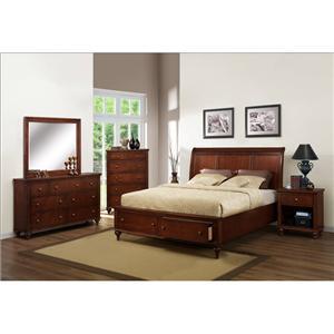 Austin Group Westlake 1-Drawer 1-Shelf Nightstand