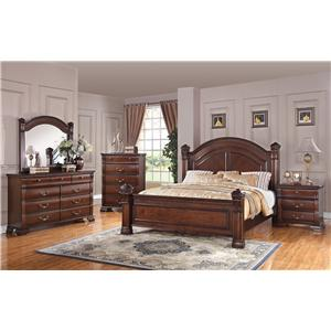 Austin Group Isabella 527 Bedroom Group