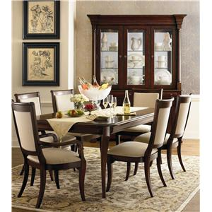 Bassett Louis-Philippe Formal Dining Room Group