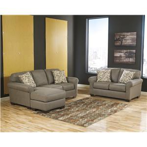 Benchcraft Danely - Dusk Stationary Living Room Group