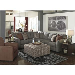 Benchcraft Doralin - Steel Stationary Living Room Group