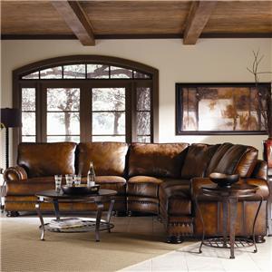 Bernhardt Foster  Stationary Sofa