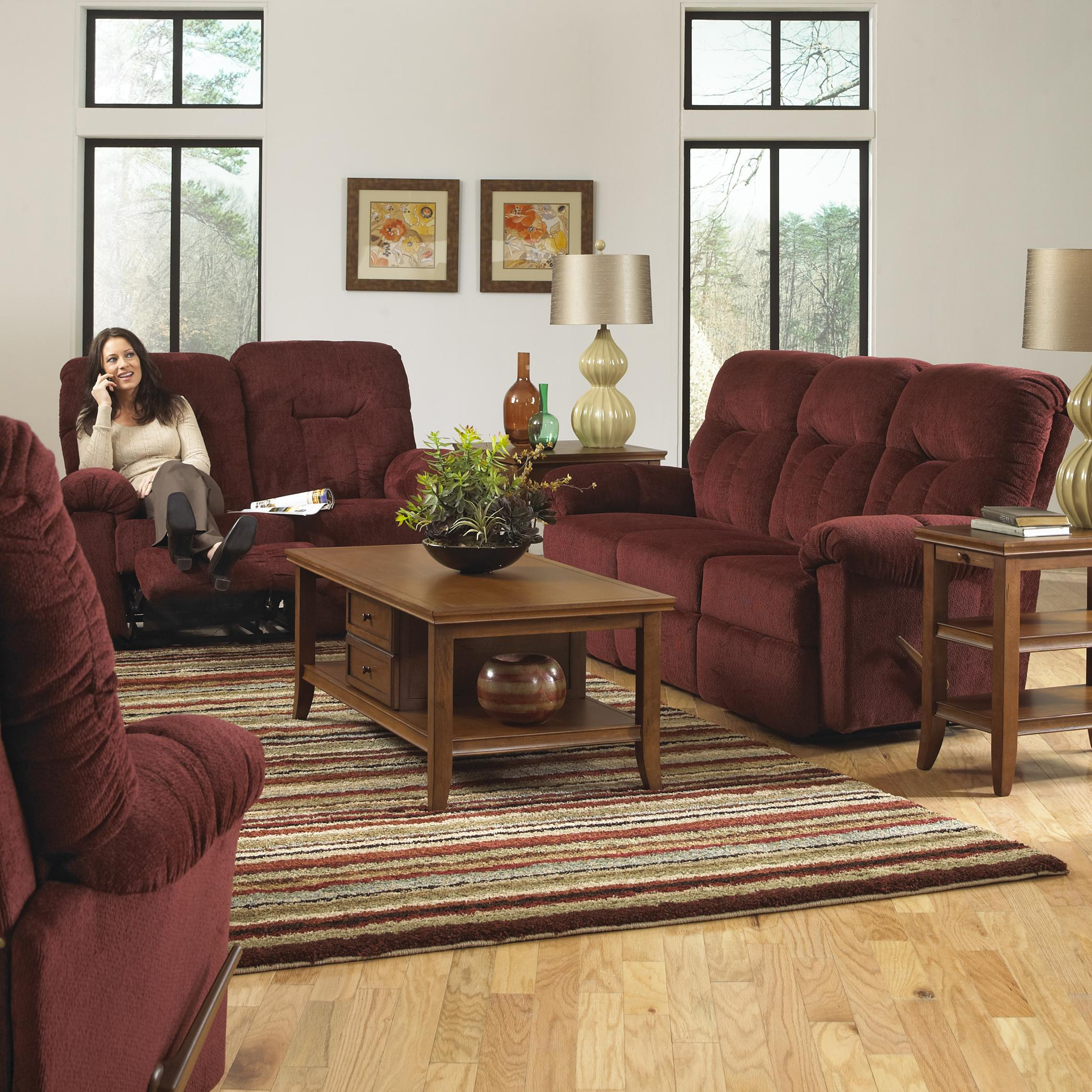 Reclining Living Room Group By Best Home Furnishings