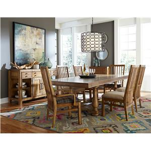 Broyhill Furniture Bethany Square Formal Dining Room Group