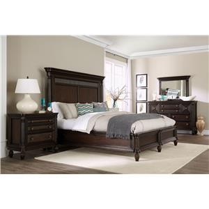 Broyhill Furniture Jessa Queen Bedroom Group 1