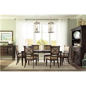 Broyhill Furniture Jessa Formal Dining Room Group