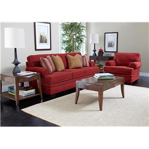 Broyhill Furniture Landon Stationary Living Room Group