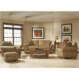 Broyhill Furniture Laramie 3 Piece Wedge Sectional Sofa