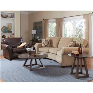 Broyhill Furniture Miller Stationary Living Room Group