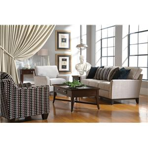 Broyhill Furniture Perspectives Stationary Living Room Group