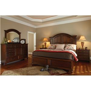 Carolina Preserves by Klaussner Blue Ridge Queen Bedroom Group
