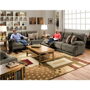 Catnapper Riley Reclining Living Room Group