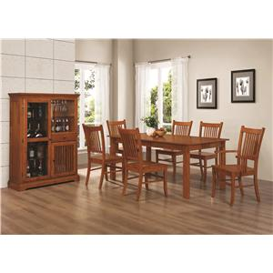 Coaster Marbrisa Formal Dining Room Group
