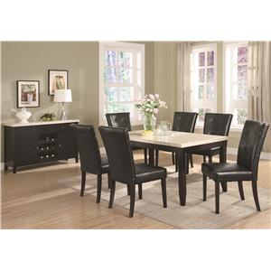 Coaster Anisa Casual Dining Room Group