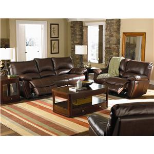 Coaster Clifford Reclining Living Room Group