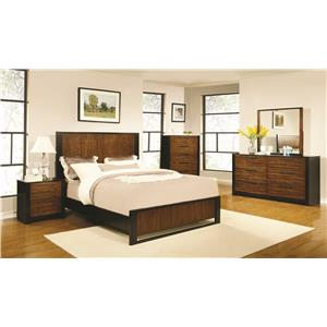 Coaster Coronado Eastern King Bedroom Group