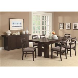 dining room furniture - coaster fine furniture - dining room