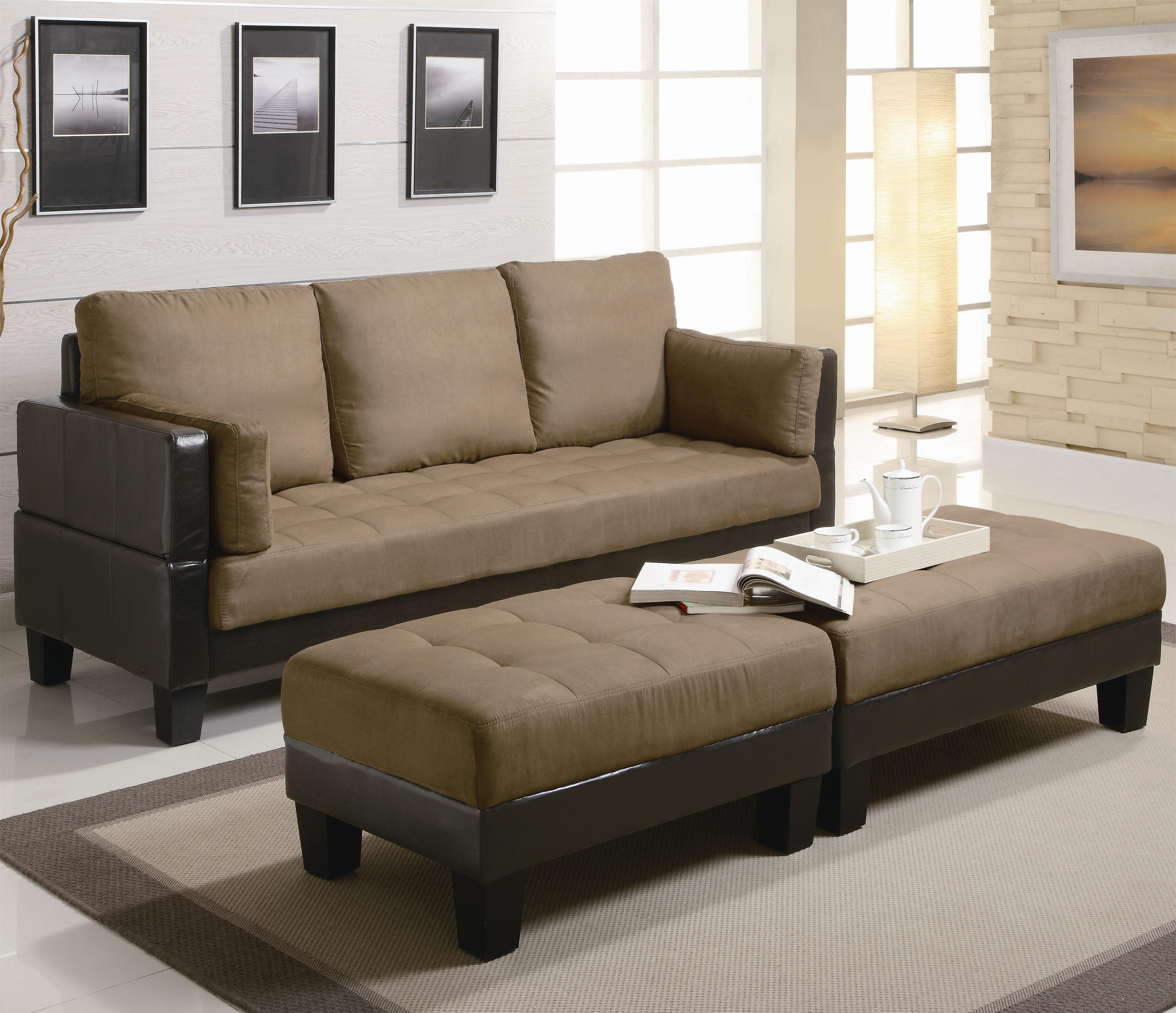 Remarkable Ellesmere Contemporary Sofa Bed Group With 2 Ottomans By Coaster At Charleston Furniture Machost Co Dining Chair Design Ideas Machostcouk