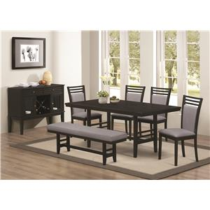 Coaster Lasalle Casual Dining Room Group