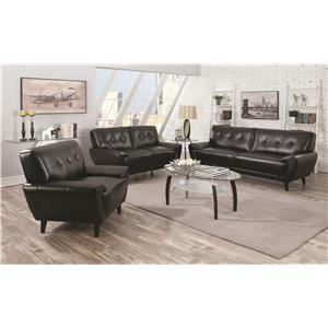 Coaster Leskow Stationary Living Room Group