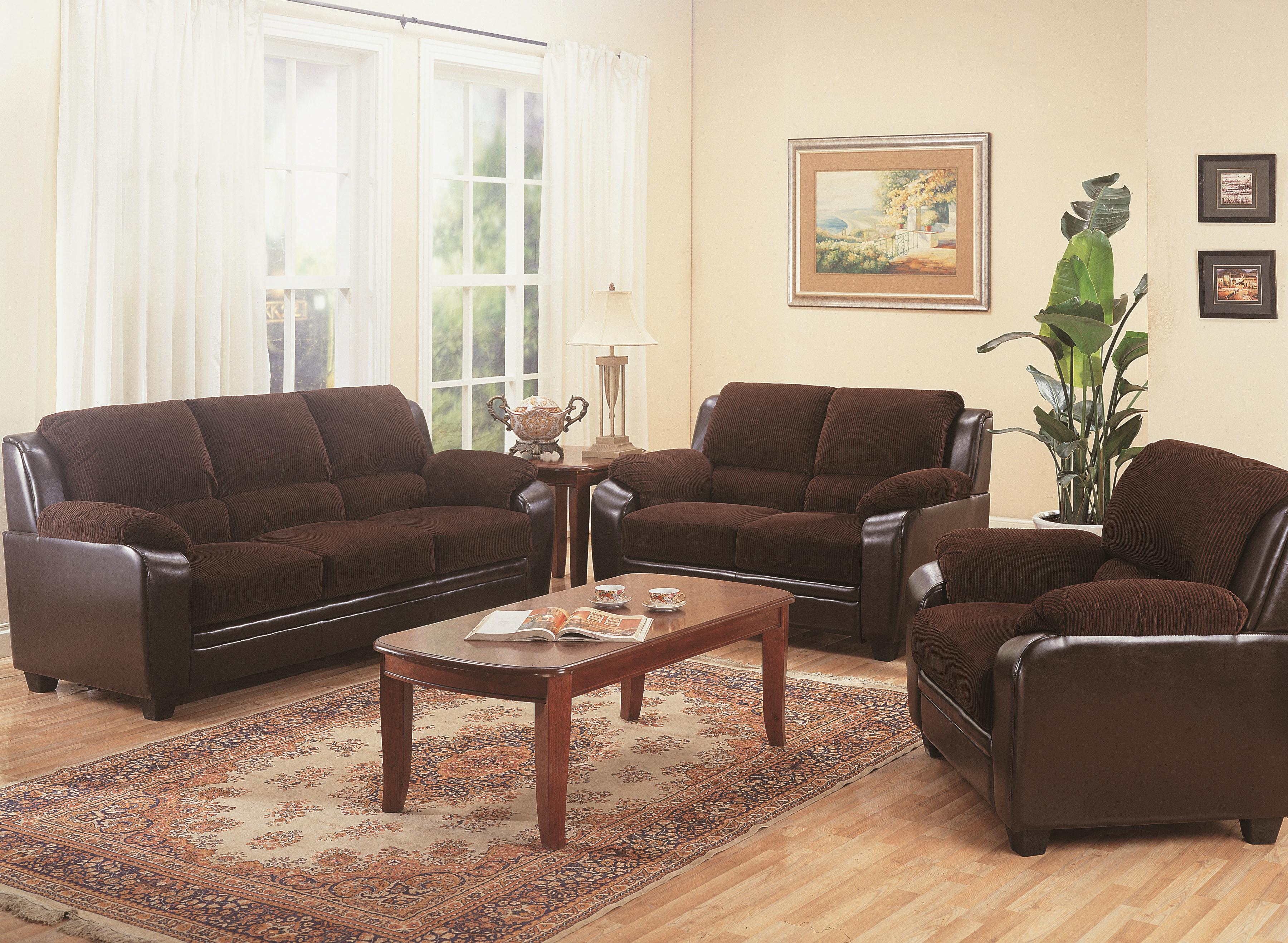 Coaster monika stationary sofa with wood feet charleston furniture sofa